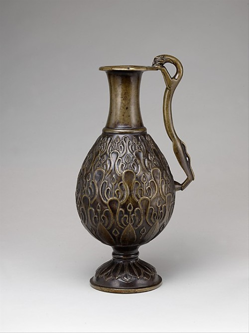7th century Irani surahi in the Metropolitan Museum of Art
