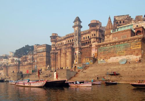 The Benares Ghats