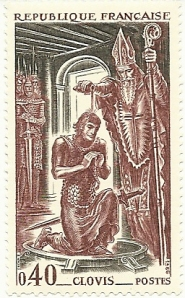 Clovis Anointed by the Bishop