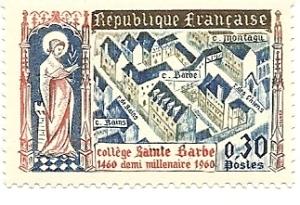 Collège Ste. Barbe, 1460 a half millennium 1960