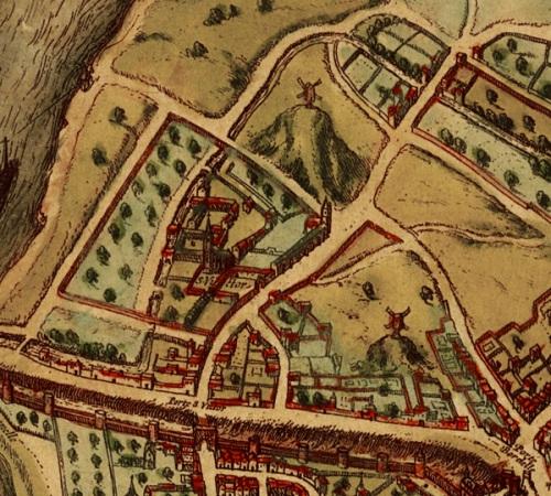St Victor, Abbey and neighborhood 1572