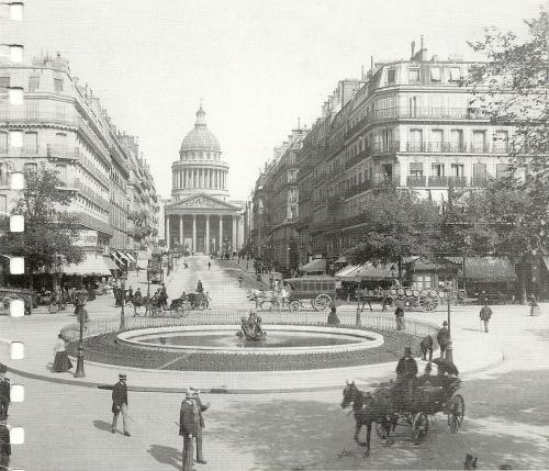 Panthéon and rue Soufflot 1890