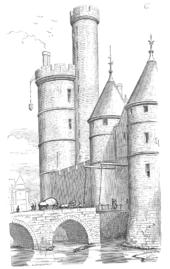 Tour de Nesle by Violllet le Duc