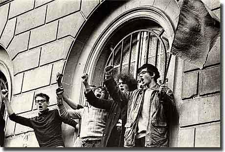 Paris Student Riots 1968