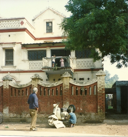 The first house in Benares