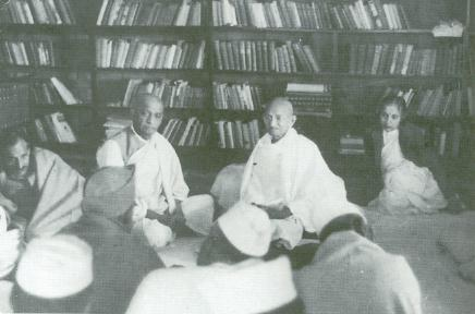 Gandhi, Congress Working Committee, Anand Bhavan, Allahabad 1940