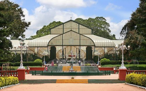 Lal Bagh Glass House and Fountain