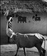 Bihar village house Bischof 1951