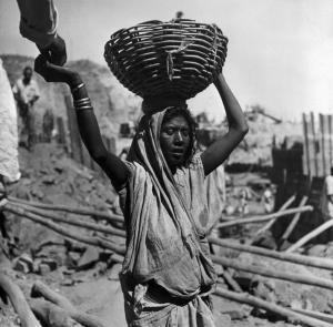 1951 Worker on the Damodar Valley Dam