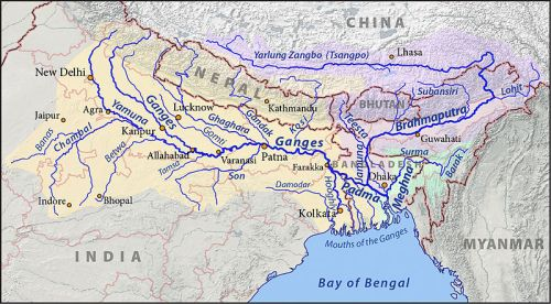The Ganges River