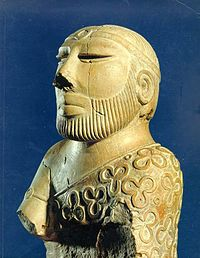 A Priest-King Statue of Mohenjodaro