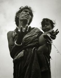 Bischof 1951 Bihar hungry woman