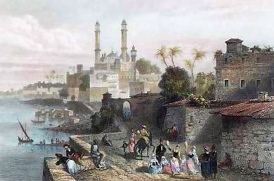 Benares in 1859, by J. Schroeder
