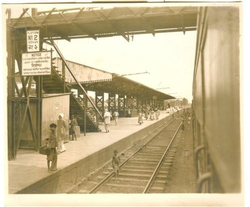 A Calcutta railway staion 1940s