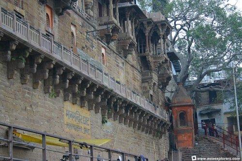 Man Mandir Ghat Maharaja of Jaipur, Rajput architecture