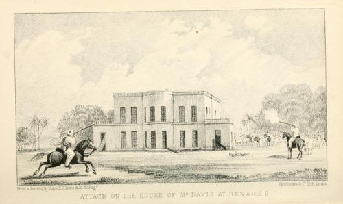 The Benares Cantonment Palace in 1799