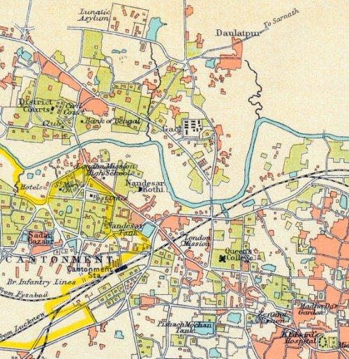 Benares Cantonment 1924