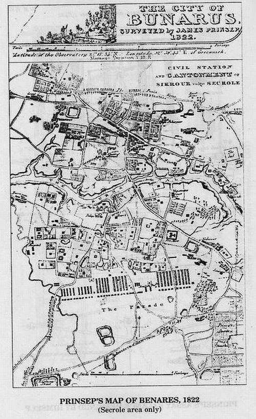 Benares Cantonnment 1822