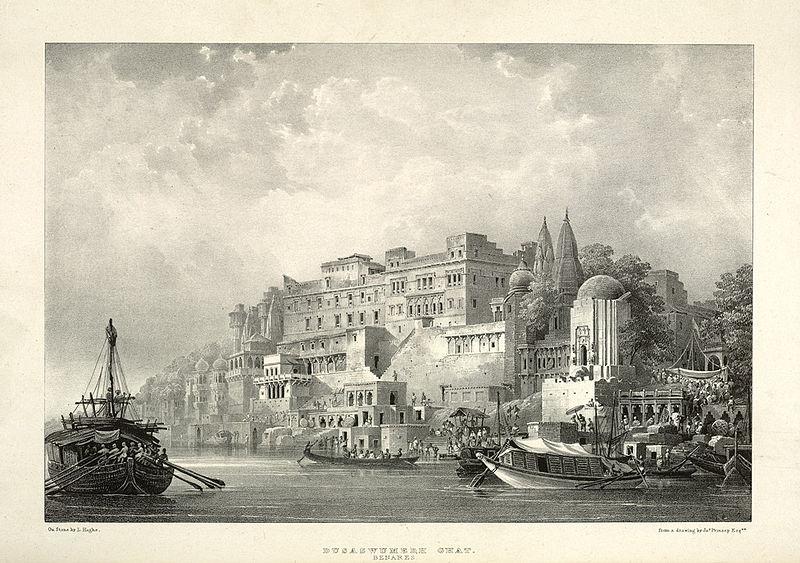 https://irissansfrontieres.files.wordpress.com/2014/04/benares-dusaswumedh-ghat-benares-by-james-prinsep-1834-british-library-london.jpg