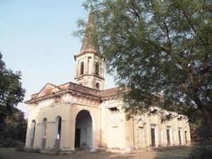 Benares St.Mary's Church by Susan Elaine Penn-Berkeley in 2009