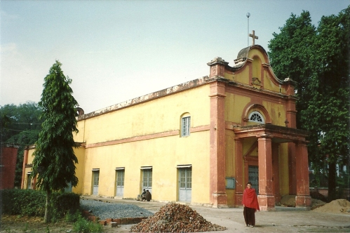 A church in the Benares Cantonment