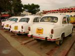 Ambassador Taxis at the Railway Junction