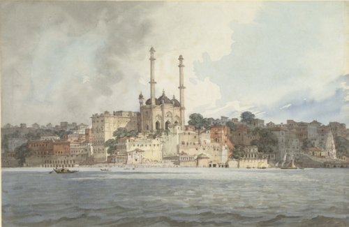 Robert Smith, Aurangzeb's Mosque, 1814