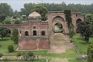 The Mughal Lashkari Khan Sarai in Punjab