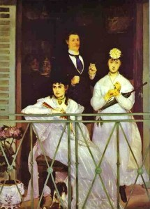 Édouard Manet, The Balcony 1868