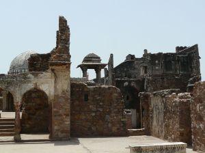 Zafar Mahal ruins