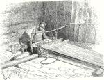 man weaving 1847