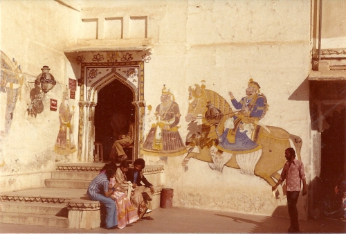 Udaipur wall painting