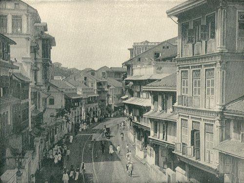Kalbadevie Road 1890