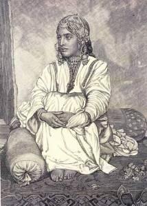 A dance girl of Kashmir