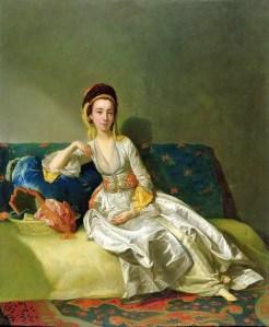 George Willison, Scottish artist, Nancy Parsons in Turkish dress 1771