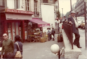 At Maubert Mutualité in the 1980s