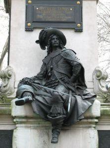 D'Artagnan on the Dumas Monument in Paris
