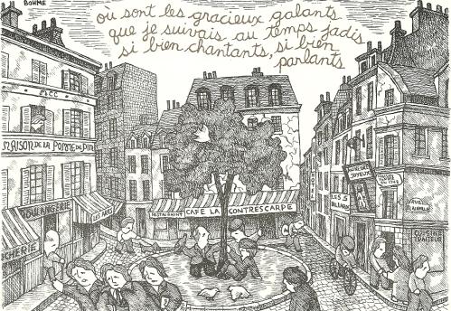 Lawrence Bohme, verse by François Villon 1982