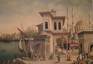 Üsküdar in Istanbul by Harder Hatemi