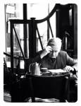 Man in Cafe Paris