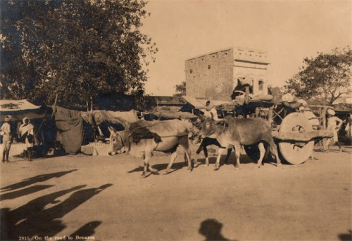 On the road to Benares in the 1920s