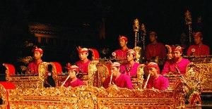 Bali gamelon orchestra