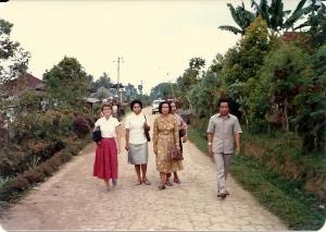 Bali village road
