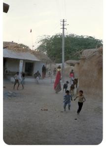 India village scene