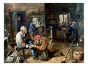 The Village Barber-Surgeion by Adriaen Brouwere