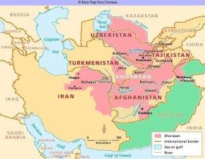 omar khayyam greater khorasan map