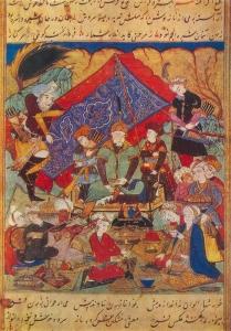 A feast in Samarkand