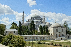 suleymaniye mosque exterior view