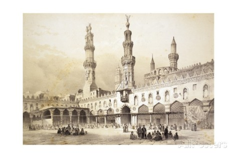 Al Azhar Mosque in the 10th century