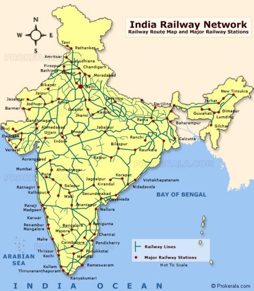 india railway map 2